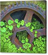 Old Mill Of Guiford Grinding Gear Canvas Print