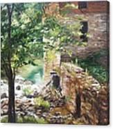 Old Mill Stream I Canvas Print