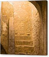 San Antonio Texas Concepcion Mission Stairs Canvas Print
