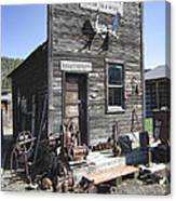 Old Molson Ghost Town Assay Office Canvas Print