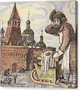 Old Moscow - Bubliki Canvas Print