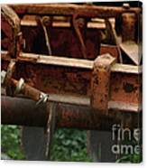 Old Mowing Machine Canvas Print