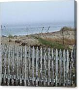 Old Nantucket Fence Canvas Print