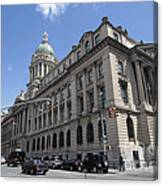 Old Nypd Headquarters Canvas Print