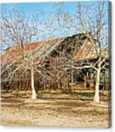 Old Orchard Barn Canvas Print