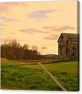 Old Pa Canvas Print