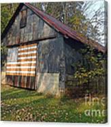 Old Patriot Canvas Print