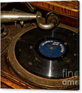 Old Phonograph Canvas Print