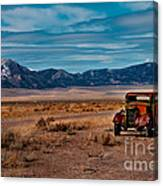 Old Pickup Canvas Print