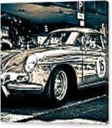 Old Porsche No.3 Toned Canvas Print