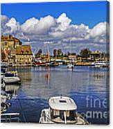 Old Port Holiday Canvas Print