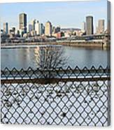Old Port Of Montreal Canvas Print