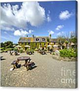 Old Portelet Inn  Canvas Print