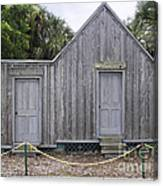 Old Post Office In Melbourne Beach Canvas Print