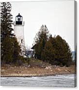 Old Presque Isle Lighthouse Canvas Print