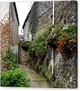 Old Quarter Of La Roche Bernard Canvas Print