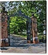 Old Queens Entrance Gate Canvas Print