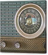 Old Radio Canvas Print