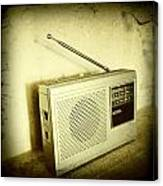 Old Radio Canvas Print