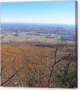 Old Rag Hiking Trail - 121235 Canvas Print