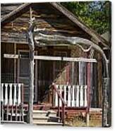 Old Ranch Cabin In Antique Color 3008.02 Canvas Print
