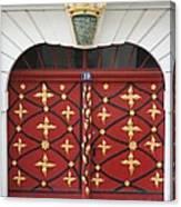Old Red Door Canvas Print