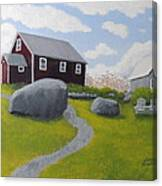Old Red Schoolhouse Canvas Print
