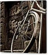 Old Ride Canvas Print