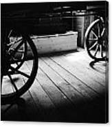 Old Rims  Canvas Print