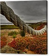 Old Rope Canvas Print