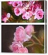 Old Roses Vertical Canvas Print