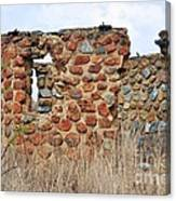Old Ruin Abandoned Canvas Print