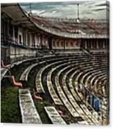 Old Ruined Stadium Canvas Print