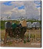 Old Rural Route Canvas Print