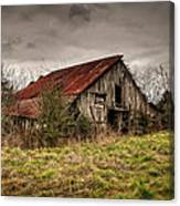 Old Rustic Barn Canvas Print