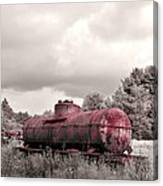 Old Rusty Tanker  2 Canvas Print