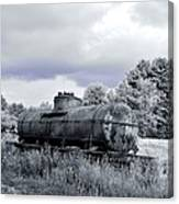 Old Rusty Tanker 3 Canvas Print