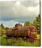 Old Rusty Tanker Canvas Print