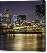 Old Sacramento California... Canvas Print