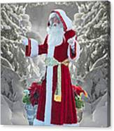 Old Saint Nick Canvas Print
