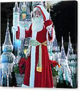 Old Saint Nick Walt Disney World Digital Art 02 Canvas Print