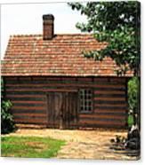Winston-salem Nc - Old Salem Cottage Canvas Print