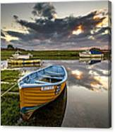 Old Salmon Boat Canvas Print