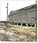Old Salted Building Canvas Print