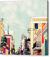 Old San Juan Special Request Canvas Print