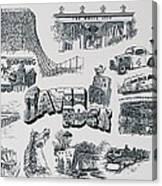 Old Savin Rock Canvas Print