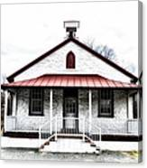 Old Schoolhouse Chester Springs Canvas Print