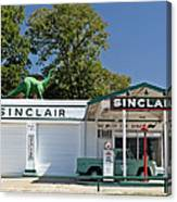 Old Service Station Canvas Print
