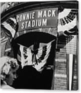 Old Shibe Park - Connie Mack Stadium Canvas Print