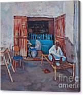Old Shop Suakin Canvas Print